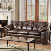 Simmons Upholstery Sofa  in Sebring Coffeebean