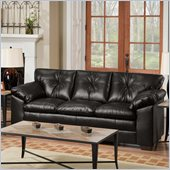 Simmons Upholstery Sofa in Sebring Black