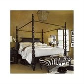 Tommy Bahama Home Kingstown Sovereign Poster Bed with Optional Canopy in Tamarind