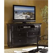 Tommy Bahama Home Kingstown Stony Point Media Chest in Tamarind