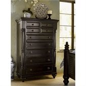 Tommy Bahama Home Kingstown Stony Point 7 Drawer Chest in Tamarind Finish