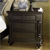 Tommy Bahama Home Kingstown Stony Point Night Stand in Tamarind