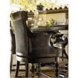 ADD TO YOUR SET: Tommy Bahama Home Kingstown Dunkirk Swivel Counter Stool in Tamarind