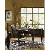 Tommy Bahama Home Kingstown Port Royal Wood Desk in Tamarind