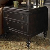 Tommy Bahama Home Kingstown Nelson End Table in Tamarind