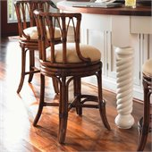 Tommy Bahama Home Island Estate South Beach Swivel Counter Stool in Plantation