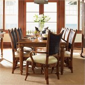 Tommy Bahama Home Island Estate Grenadine Rectangular Casual Dining Table in Plantation