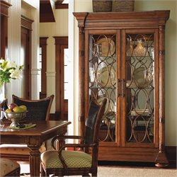 Tommy Bahama Home Island Estate Mariana Curio Cabinet in Plantation