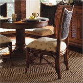 Tommy Bahama Home Island Estate Mangrove Fabric Side Chair in Plantation