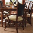 ADD TO YOUR SET: Tommy Bahama Home Island Estate Mangrove Fabric Arm Chair in Plantation