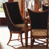 Tommy Bahama Home Island Estate Cruz Bay Fabric Host Arm Chair in Plantation