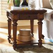 ADD TO YOUR SET: Tommy Bahama Home Island Estate Boca End Table in Plantation