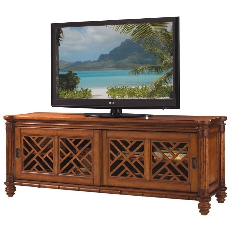 Tommy Bahama Home Island Estate Nevis TV Stand in Plantation