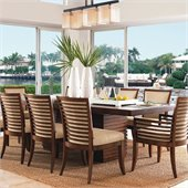 Tommy Bahama Home Ocean Club Peninsula Dining Table