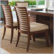 ADD TO YOUR SET: Tommy Bahama Home Ocean Club Kowloon Side Chair - Ships Assembled