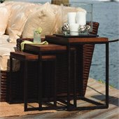Tommy Bahama Home Ocean Club Ocean Reef Nesting Tables