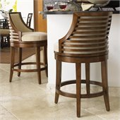 Tommy Bahama Home Ocean Club Cabana Swivel Counter Stool