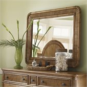 Tommy Bahama Home Beach House Osprey Mirror in Golden Umber