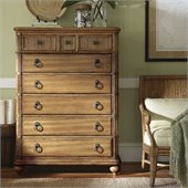 Tommy Bahama Home Beach House Gulf Shores Chest in Golden Umber