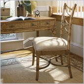 Tommy Bahama Home Beach House Sanibel Side Chair in Golden Umber-Ships Assembled