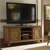 Tommy Bahama Home Beach House Bonita Entertainment Console in Golden Umber