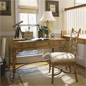 Tommy Bahama Home Beach House Clearwater Writing Desk in Golden Umber