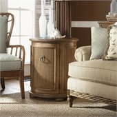 Tommy Bahama Home Beach House Pompano Accent Table in Golden Umber