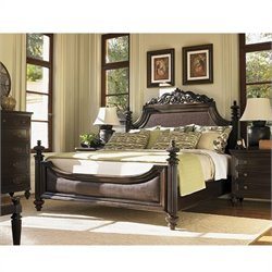 Tommy Bahama Home Royal Kahala Harbour Point Bed