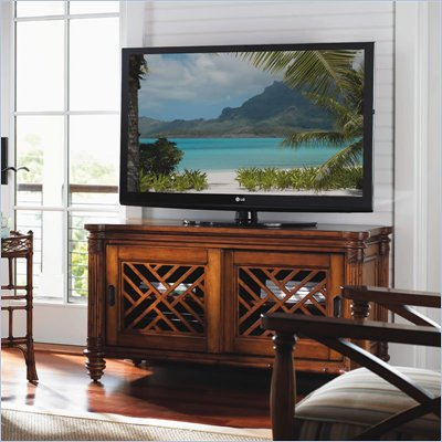 Tommy Bahama Home Island Estate Grand Bank TV Stand in Plantation