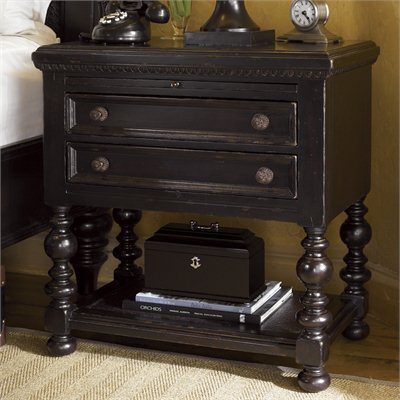 Tommy Bahama Home Kingstown Phillips Night Stand in Tamarind