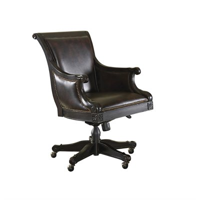 Tommy Bahama Home Kingstown Admiralty Desk Chair in Tamarind