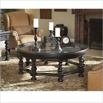 Tommy Bahama Home Kingstown Plantation Cocktail Table in Tamarind