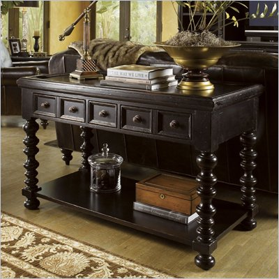 Tommy Bahama Home Kingstown Explorer Console Table in Tamarind