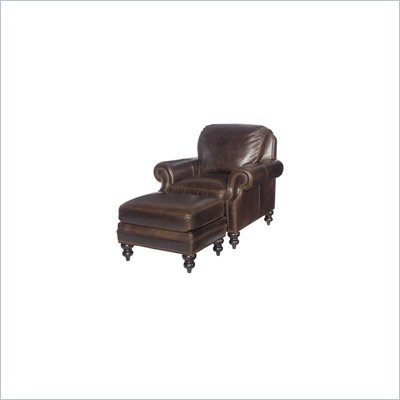 Tommy Bahama Home Kingstown Warmick Leather Chair
