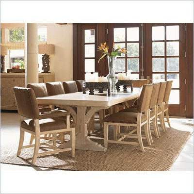 Tommy Bahama Road To Canberra New South Wales Dining Table in Moderately Distressed