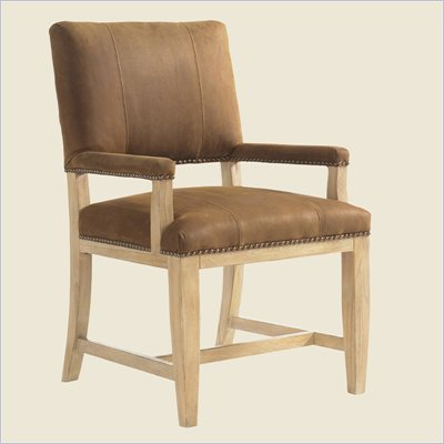 Tommy Bahama Road To Canberra Brisbane Arm Chair in Dusty Sage
