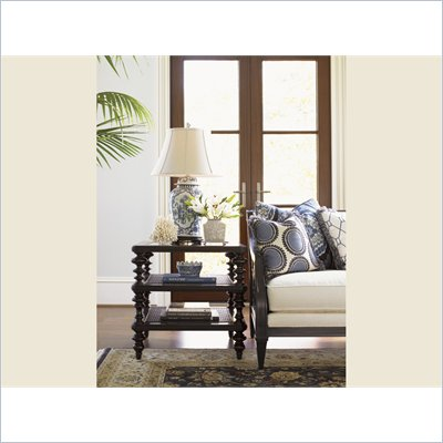 Tommy Bahama Home Royal Kahala Tropic Lamp Table