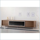 Modloft Lexington 94 Entertainment Unit in Walnut