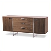Modloft Greenwich Sideboard in Walnut