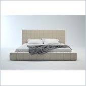 Modloft Thompson Bed in Beige Fabric