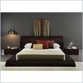 Modloft Waverly Full Size Bed in Wenge