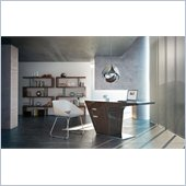 Modloft Mercer Desk in Ebony Lacquer