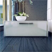 Modloft Thompson Nightstand in White Lacquer