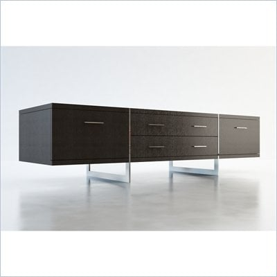 Modloft Allen 72&quot; Entertainment Unit in Wenge