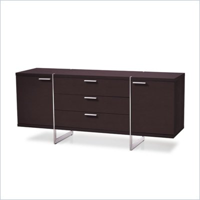 Modloft Greenwich Sideboard in Wenge