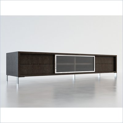 Modloft Lexington 94&quot; Entertainment Unit in Wenge
