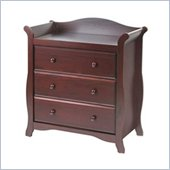 Stork Craft Aspen 3 Drawer Chest in Cherry Finish