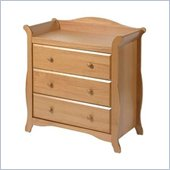 Stork Craft Aspen 3 Drawer Chest in Oak Finish