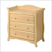 Stork Craft Aspen 3 Drawer Chest in Natural Finish