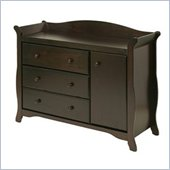 Stork Craft Aspen Combo Dresser in Espresso